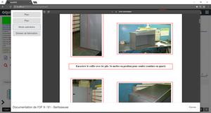 affichage documentation logiciel mes