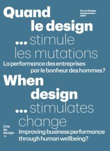 couverture magazine quand le design stimule les mutations
